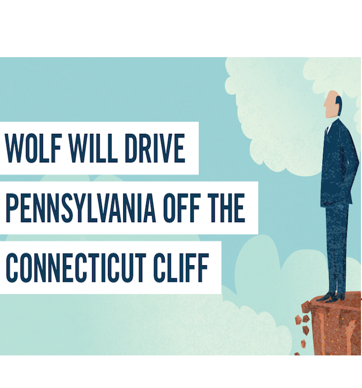 Wolf Will Drive Pa. Off Connecticut Cliff