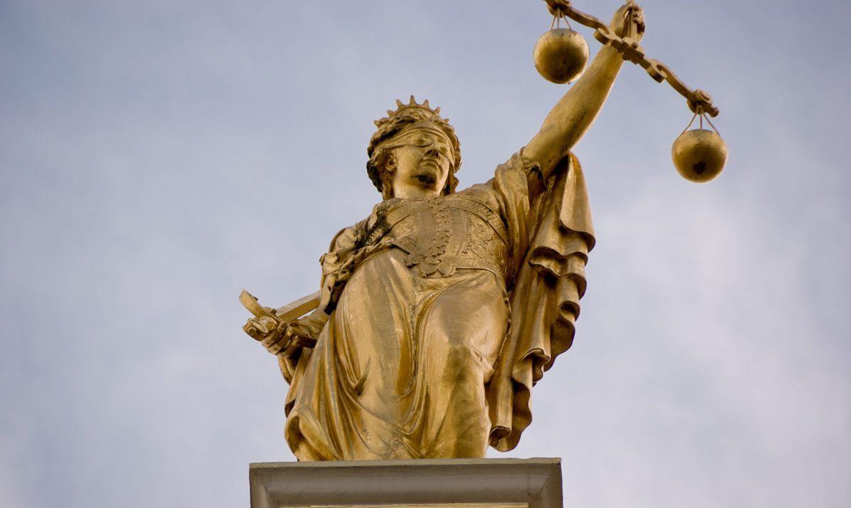 Justice Needs Her Blindfold Back